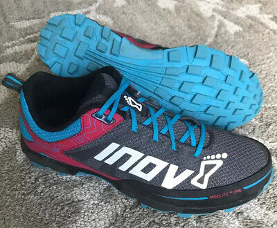 Inov8 Roclite 295 Women's 9.5 US / 40.5 EU Grey/Berry/Blue Trail Running Shoes