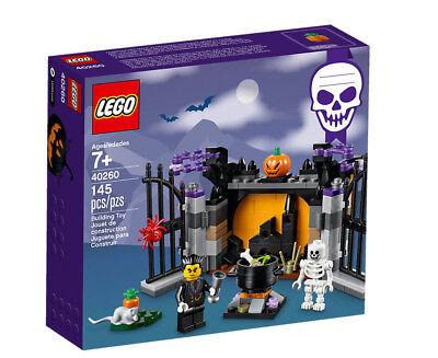 New LEGO 2017 Halloween Haunt Vampire Limited Edition 145 Pcs Set 40260 - Gift - Lego Halloween Vampires