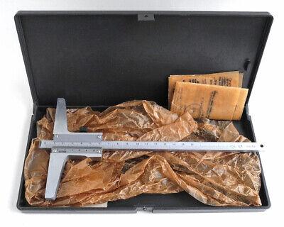 Vintage Micrometer 0-160 0.05mm Depth Gauge Precision Measuring Tool Ussr 1981