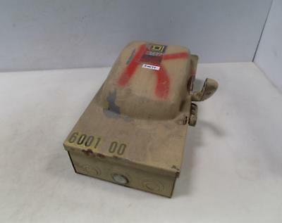 Square D Safety Switch 60amp 3 Phase