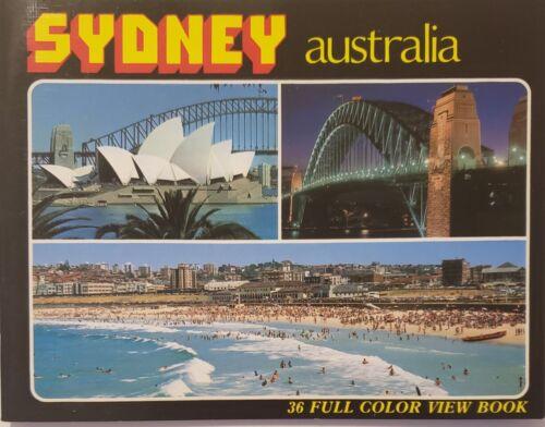 "Sydney Australia 36 Full Color View Book Vintage Booklet 5x6"""