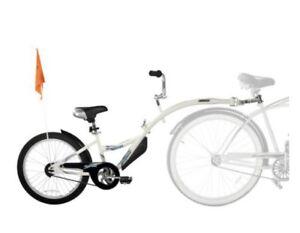 Weeride Co-Pilot White Bike Attachment