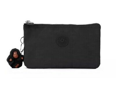 Kipling Women's Wallet Creativity Large Black Polyester