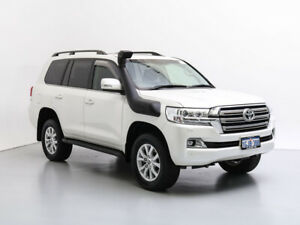 2018 Toyota Landcruiser VDJ200R MY16 VX (4x4) White 6 Speed Automatic Wagon