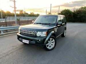 2010 Land Rover Discovery 4 Series 4 MY11 TdV6 CommandShift Green 6 Speed Sports Automatic Wagon