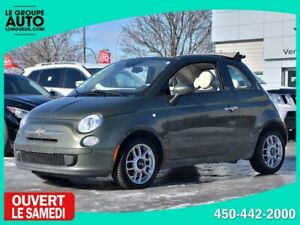 2015 Fiat 500c *CONVERTIBLE*AUTOM*A/C*34500KM*WOW*