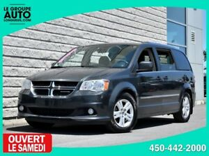 2012 Dodge Grand Caravan *CREW+*CUIR*NAVI*NOIR*CAMERA*
