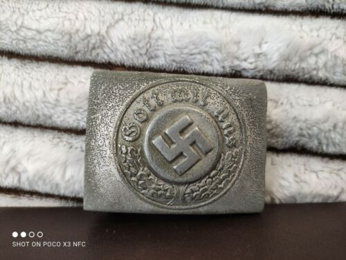 Vintage, old, rarity, antiques, German buckle of the General of the Police