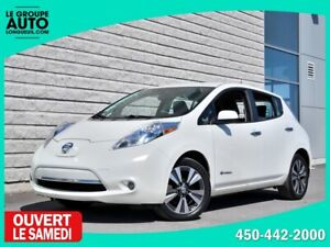 2015 Nissan Leaf *SL*CUIR*NAVI*CAMERA 360*QUICK CHARGE*