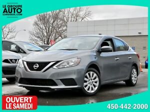 2017 Nissan Sentra *SV*AUTOM*CAMERA*SIEGES CHAUFFANTS*