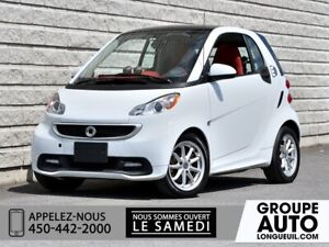 2014 Smart Fortwo electric drive *PASSION*AUTOM*A/C*TOIT*NAVI*
