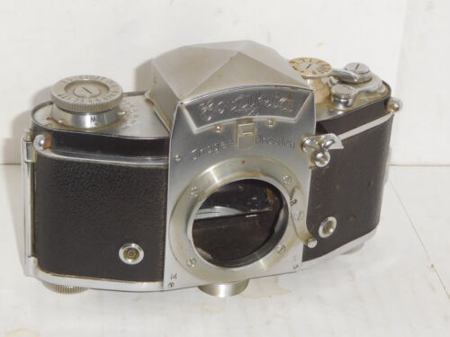 Exakta VX 35mm Film Camera ~ Germany USSR Occupied
