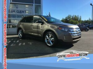 2013 Ford Edge Limited, GPS, CUIR, TOIT PANO