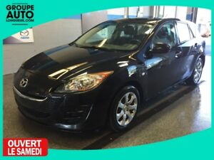 2010 Mazda Mazda3 GX SPORT H-BACK AUTO A/C BAS KM