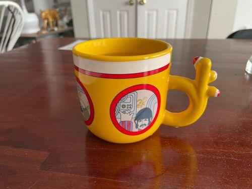 The Beatles Yellow Submarine Mug Heat Activated Unemployed Philosophers Guild