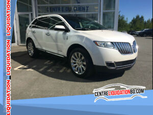 2011 Lincoln MKX LIMITED EDITION, AWD, CUIR, TOIT PANO