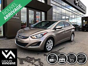 2014 Hyundai Elantra GL ** GARANTIE 10 ANS **