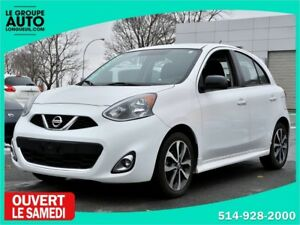 2015 Nissan Micra *SR*AUTOM*A/C*BLANCHE*MAGS*CAMERA*