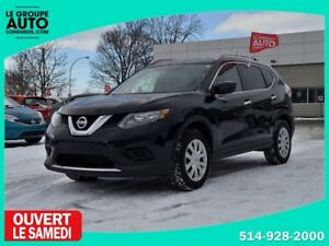 2016 Nissan Rogue *AWD*AUTOM*NOIR*CAMERA*VITRES TEINTEES*