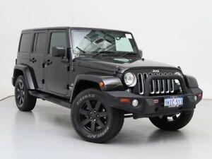 2017 Jeep Wrangler Unlimited JK MY18 Overland (4x4) Black 5 Speed Automatic Hardtop
