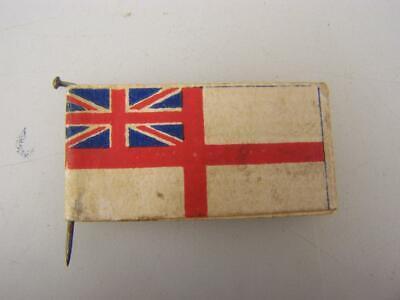 "1917 Navy Day card donation pin ""Remember Widows & orphans of Sailors       1020"
