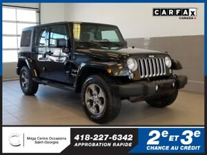 2017 Jeep Wrangler Unlimited Sahara / 4x4 / 2 toits