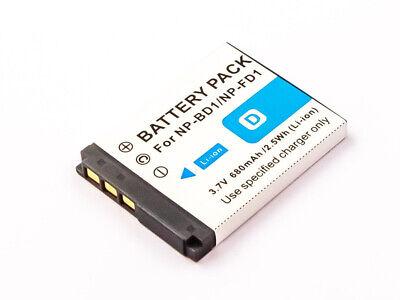 Batería Para Cámara Digital Sony Sustituido Sony NP-BD1/NP-FD1