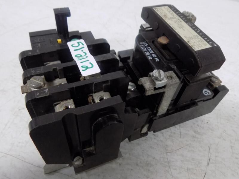 GENERAL ELECTRIC SIZE 1 MOTOR STARTER CR306CO**