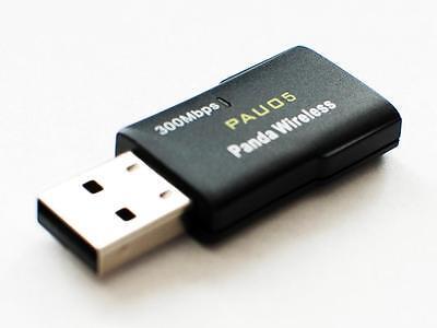 Panda 300Mbps Wireless-N USB Adapter w/ WPS button - 802.11 n, 2.4GHz