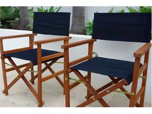 Set of 2 Directors Chairs: Brand New Comfortable Outdoor Chairs Murarrie Brisbane South East Preview
