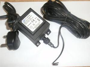 12v  AC  50W Garden Transformer outdoor 12 volts 50 WATTS Power Supply IP68