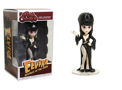 Funko Rock Candy Elvira Mistress of the Dark - Elvira Vinyl Collectible No 20547