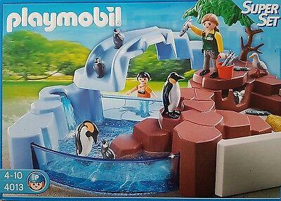 Playmobil 4013 SuperSet Pinguinbecken Neu/Ovp Produktjahr 2011