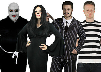 HALLOWEEN GOTHIC FAMILY FANCY DRESS COSTUMES CHOOSE STYLE FILM MOVIE CHARACTER - Halloween Film Characters Fancy Dress