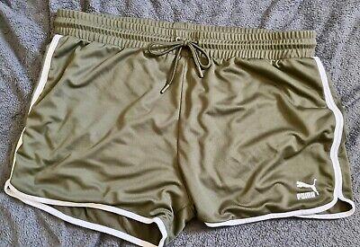 Mens Puma Khaki Shorts XXL