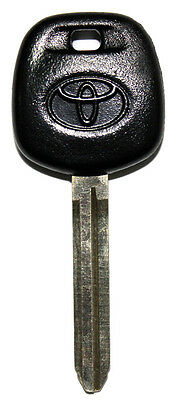 NEW TOYOTA UNCUT MASTER TRANSPONDER CHIPPED LOGO KEY BLANK REPLACEMENT KEY 4C