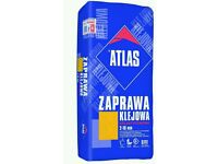 Tile adhesive £11 each back 22.5kg
