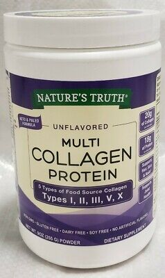 Natures Truth Unflavored Multi Collagen Protein