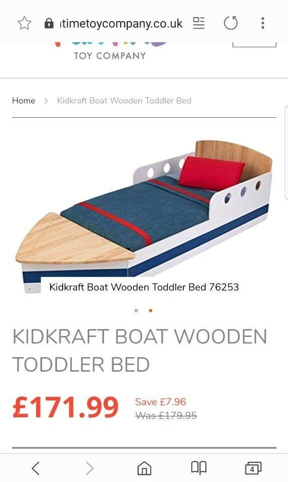 Kids boat bed | in Swindon, Wiltshire | Gumtree
