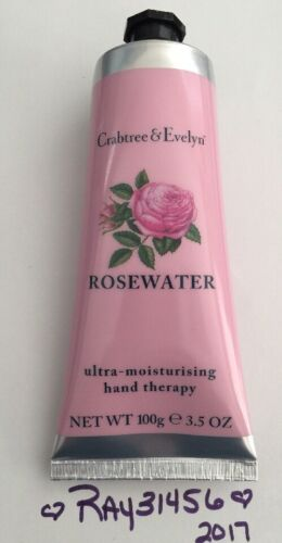 CRABTREE & EVELYN ROSEWATER ULTRA MOISTURISING HAND THERAPY