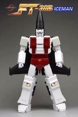 IN HAND Transformers FansToys FT 30B FT-30B ICEMAN G1 Superion Air Raid Figure