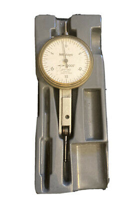 Mitutoyo 513-242 .0005 Dial Test Indicator Japan Machinist Tool Maker Inspect