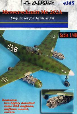 Aires 2x Messerschmitt Me-262A Jumo 004 Moteur Moteur 1:48 Detail-Set Kit Neuf
