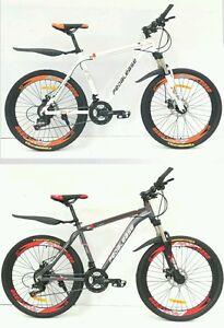 Pedalease-Estar-26-034-wheel-Mountain-Bike-front-suspension-dual-disc-brake-21-speed
