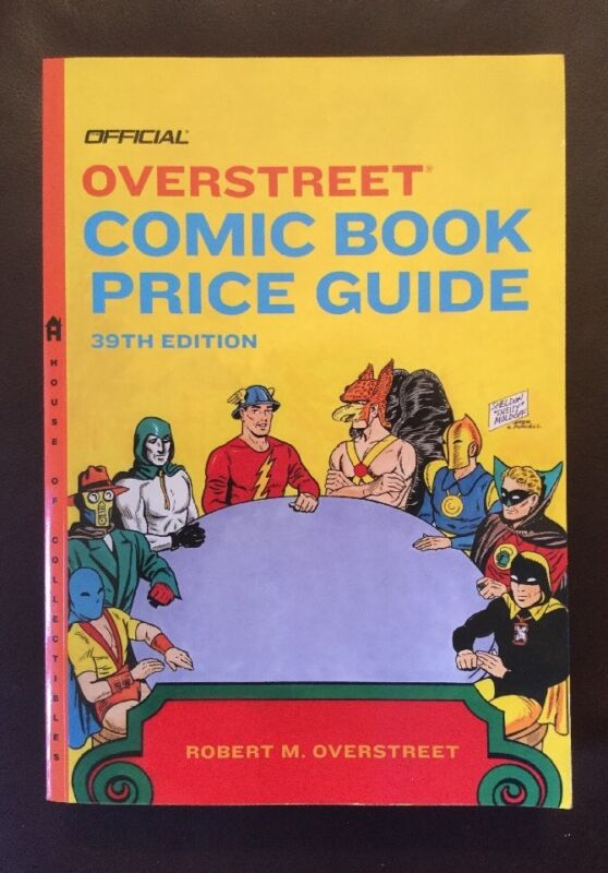 Overstreet Comic Book Price Guide #39, April 2009, Softcover, JSA cover