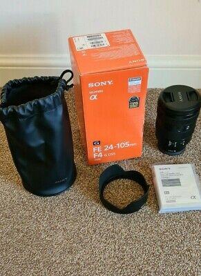 Sony SEL FE 24-105mm F4 G OSS Full Frame Lens - [Boxed & Excellent Cond]
