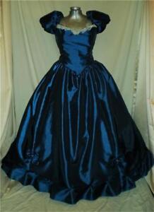 Southern Belle Civil War Old West Nutcracker SASS Ball Gown Dress, 40
