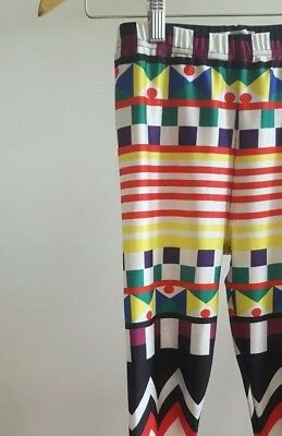 Colorful Jester Clown Full Length Leggings (Jester Leggings)