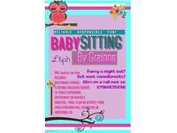 babysitting adverts