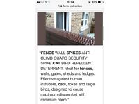 Wall/ fence spikes (45x500 mm)